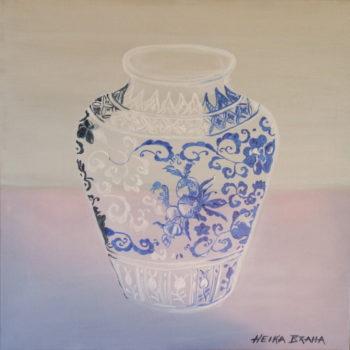 Ming Vessel, Cobalt Blue